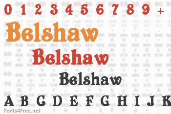 Belshaw Font