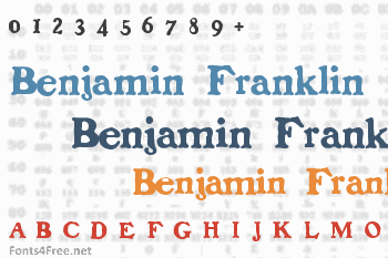 Benjamin Franklin Font