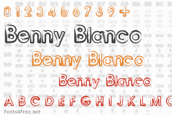 Benny Blanco Font