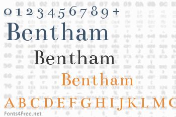 Bentham Font