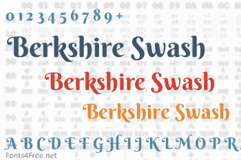 Berkshire Swash Font