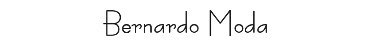 Bernardo Moda Font Preview