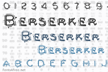 Berserker Font