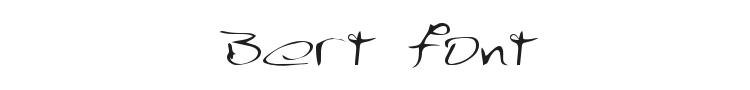 Bert Font