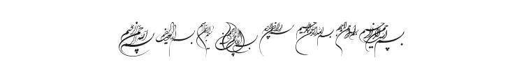 Besmellah 1 Font Preview