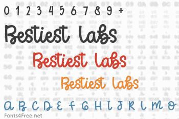 Bestiest Labs Font