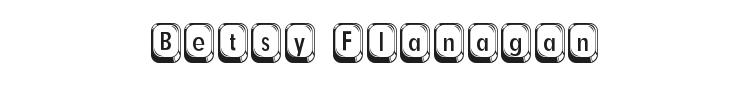 Betsy Flanagan Font Preview