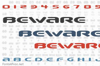 Beware Font