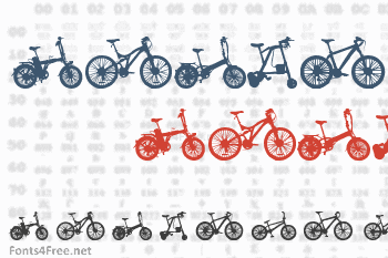 Bicycle Font