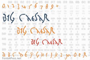 Big Caesar Font