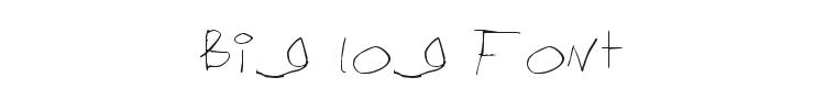 Big log Font