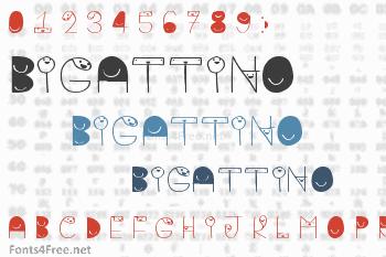 Bigattino Font