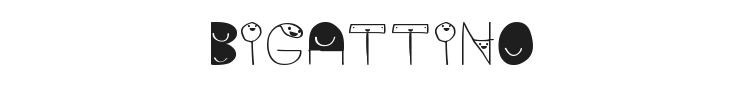Bigattino Font Preview