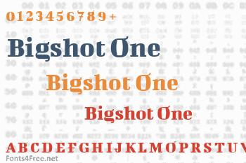 Bigshot One Font