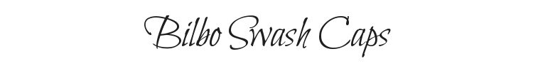 Bilbo Swash Caps Font Preview