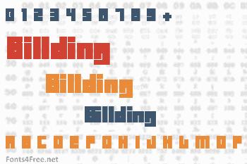 Billding Font