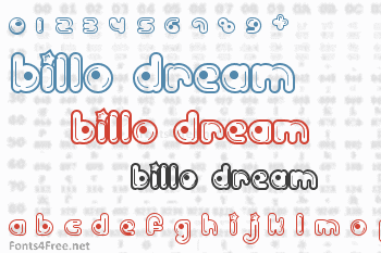 Billo Dream Font