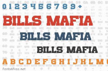 Bills Mafia Font