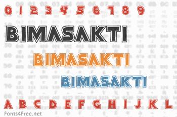 Bimasakti Font