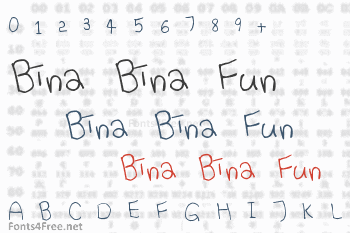 Bina Bina Fun Font
