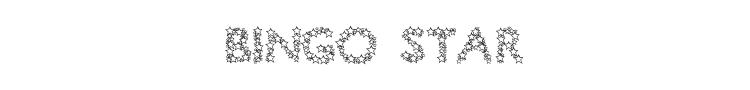 Bingo Star Font Preview