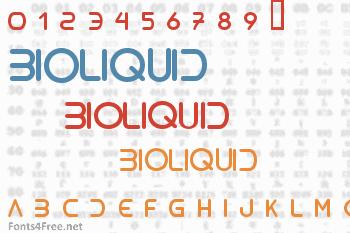 Bioliquid Font