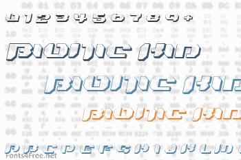 Bionic Kid Font