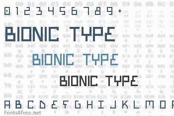 Bionic Type Font