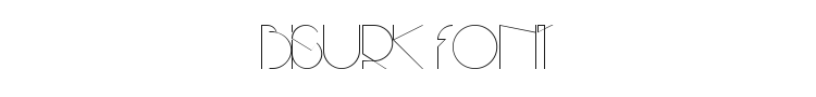 Bisurk Font Preview