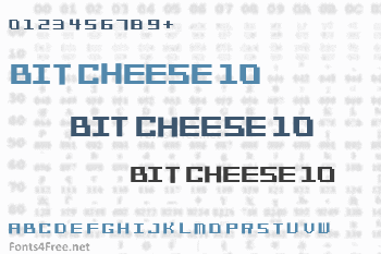 Bit Cheese 10 Font