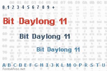 Bit Daylong 11 Font