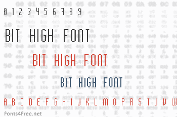Bit High Font