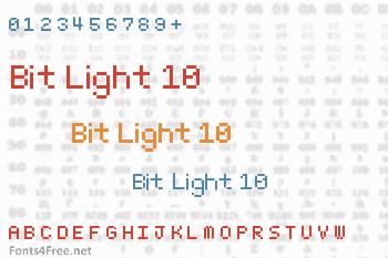 Bit Light 10 Font