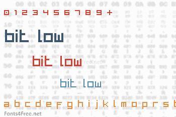 Bit Low Font