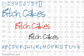 Bitch Cakes Font