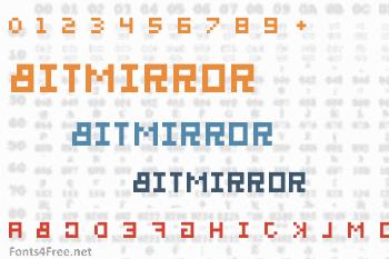 BitMirror Font
