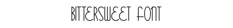 Bittersweet Font Preview