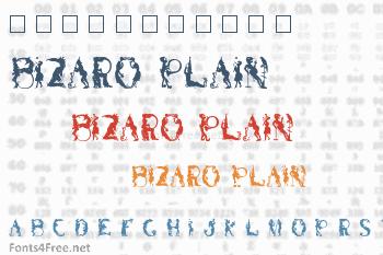 Bizaro Plain Font