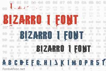 Bizarro 1 Font