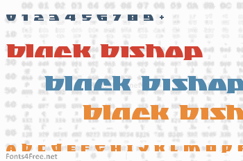 Black Bishop Font