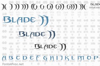 Blade 2 Font