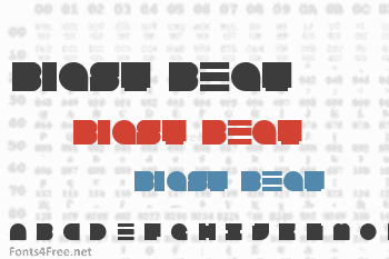 Blast Beat Font