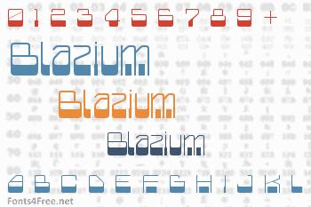 Blazium Font