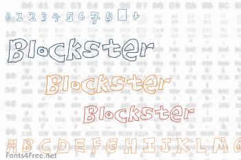 Blockster Font