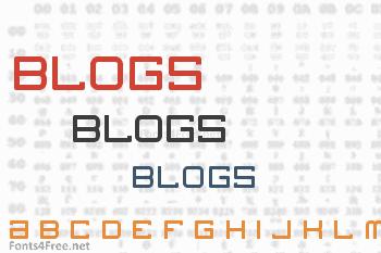 Blogs Font