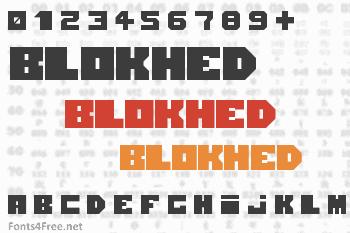 Blokhed Font