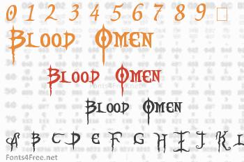 Blood Omen Font