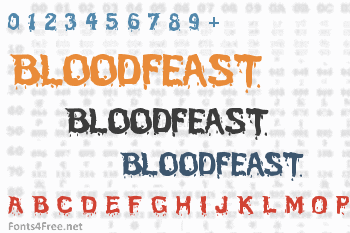 Bloodfeast Font