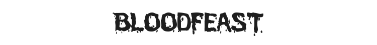 Bloodfeast Font Preview