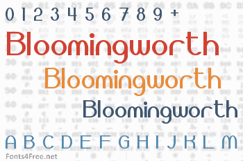 Bloomingworth Font